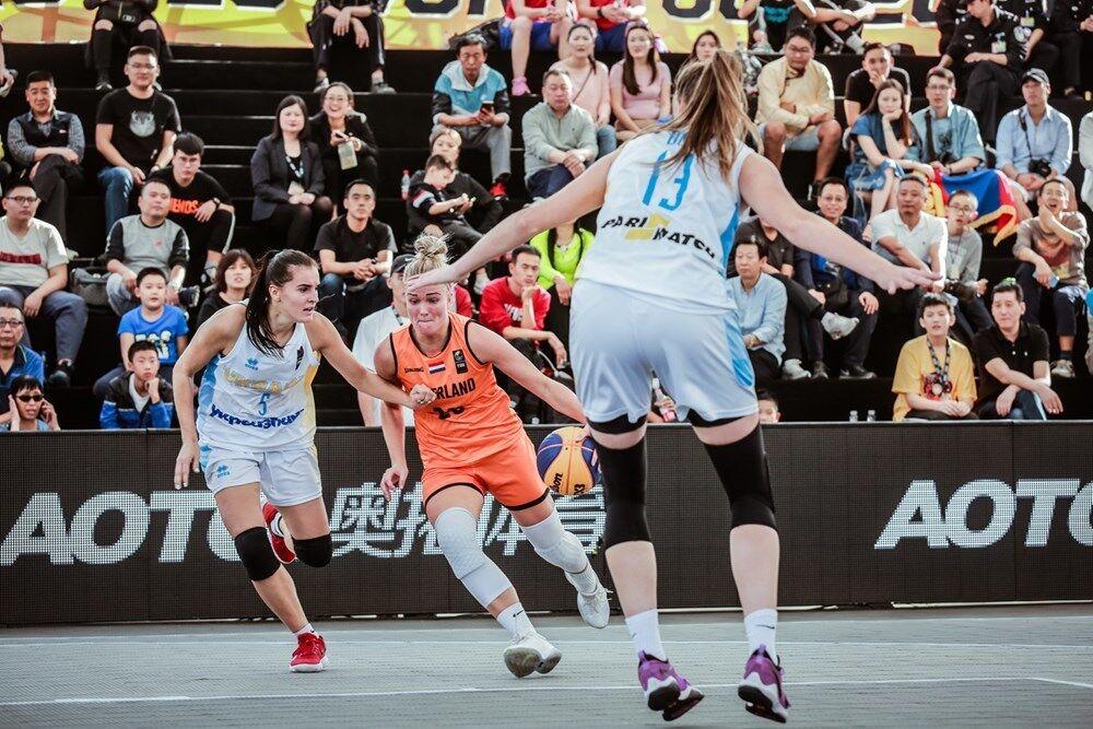Як українки переможно стартували на КС U-23 з баскетболу 3х3: відео