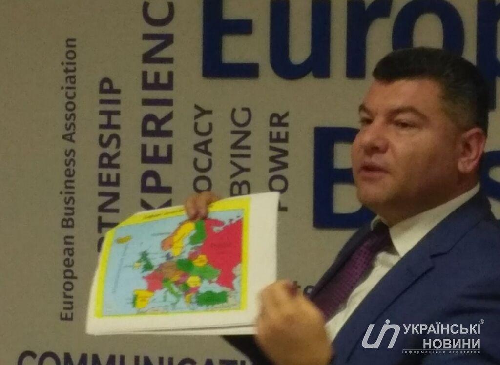 Украинский топ-чиновник угодил в скандал из-за ''российского'' Крыма