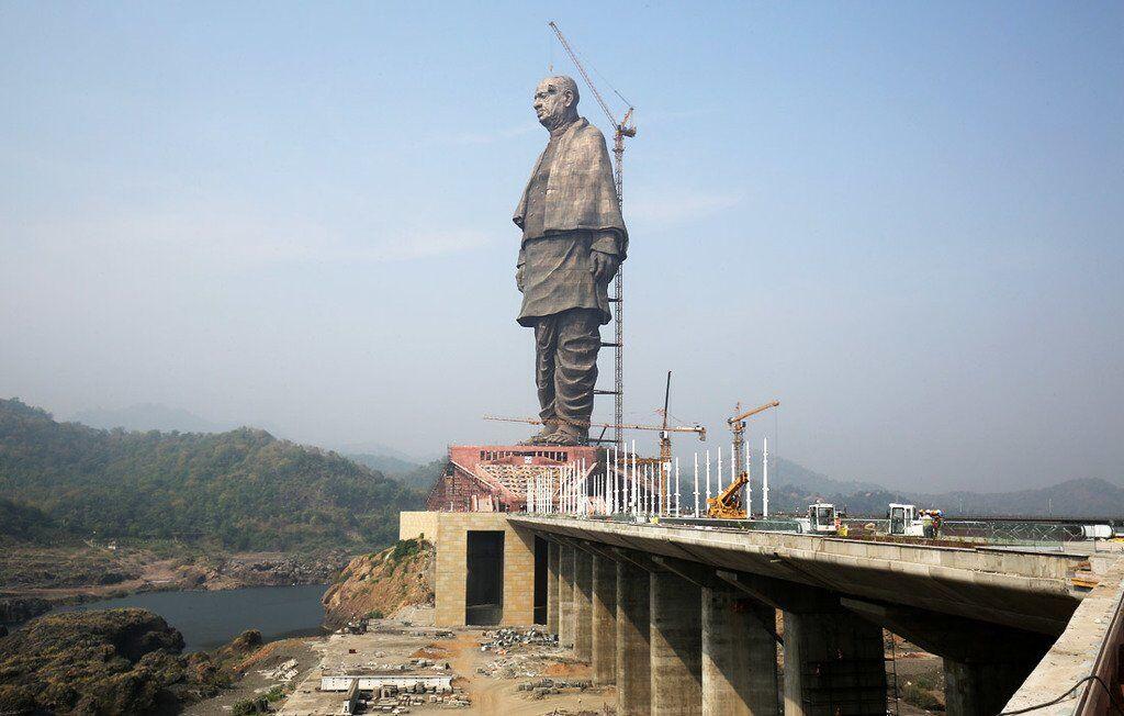 В Індії добудували найвищу статую у світі: вражаючі фото