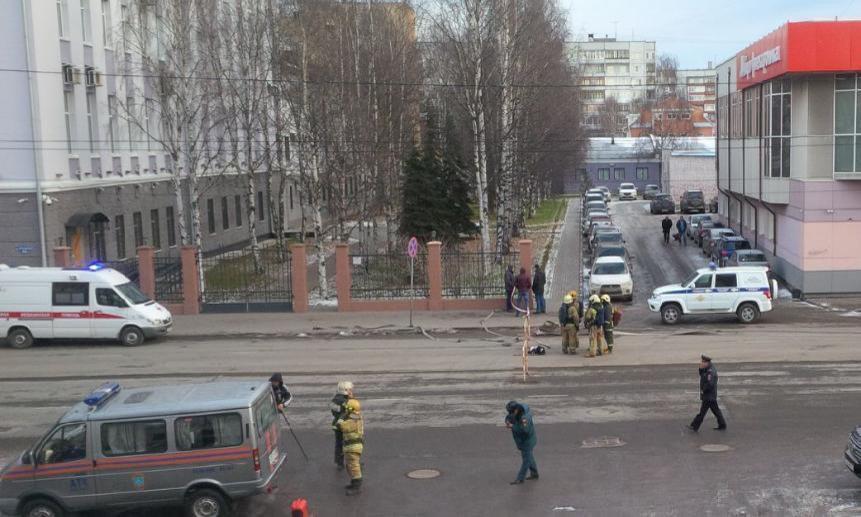 В России прогремел взрыв у здания ФСБ