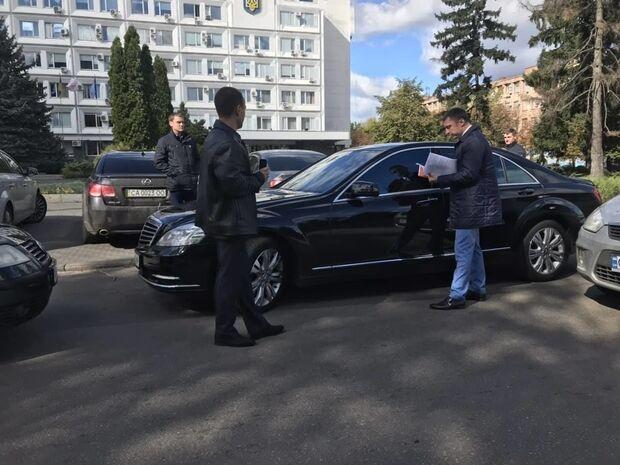 Вручение подозрения Бондаренко