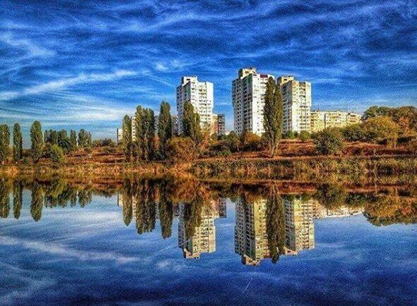 Осень в Полтаве: в сети появились яркие фото
