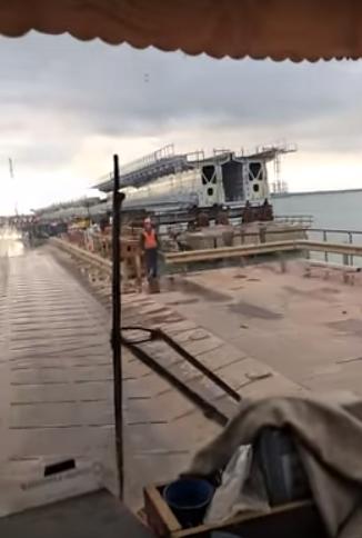 Скриншот из видео с места ЧП