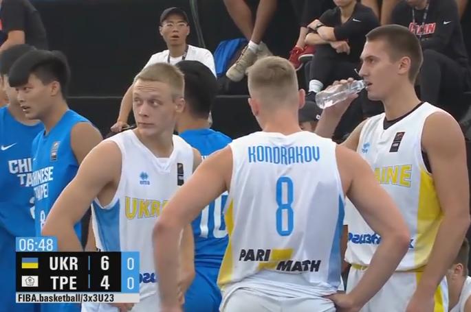 Україна знищила суперників на старті КМ U-23 з баскетболу 3х3