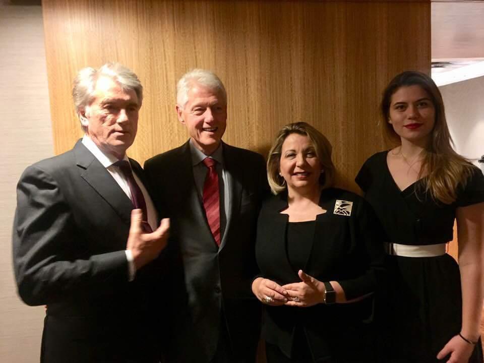 Ющенко провел знаковую встречу в США