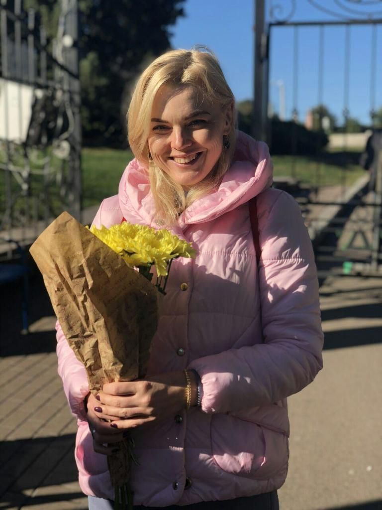 На Певческом поле в Киеве открылась выставка хризантем