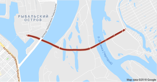 Названа серьезная проблема моста в Киеве