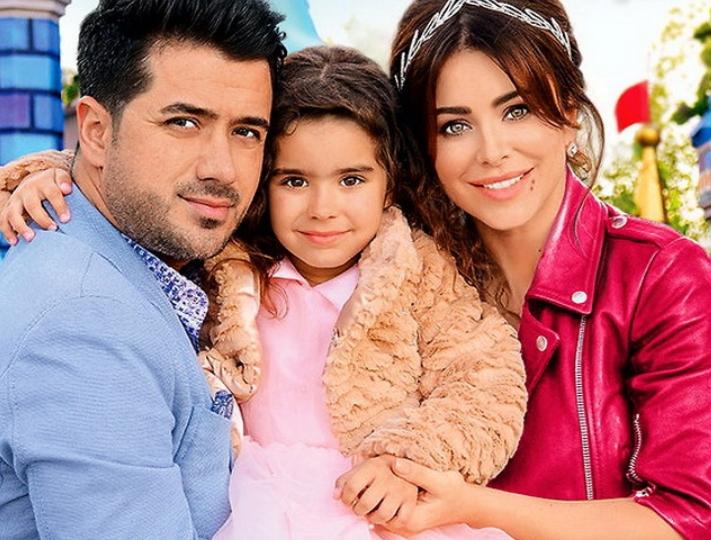 Ані Лорак з Муратом і донькою Софією