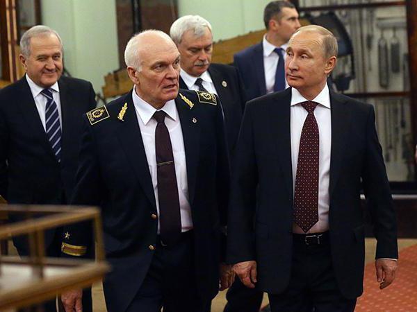 Володимир Литвиненко і Володимир Путін