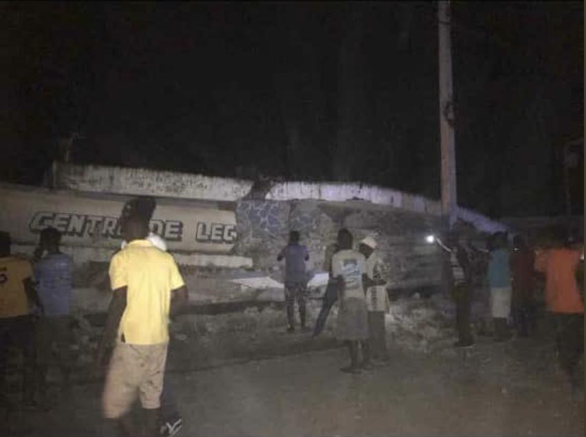 Почалася паніка: на Гаїті стався сильний землетрус