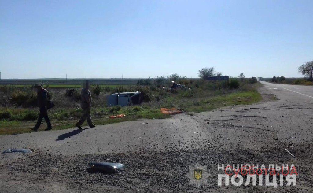 В Запорожской области результате жуткой аварии пострадали 5 человек
