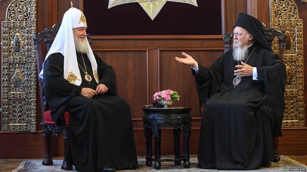 Патріархи Кирил та Варфоломій