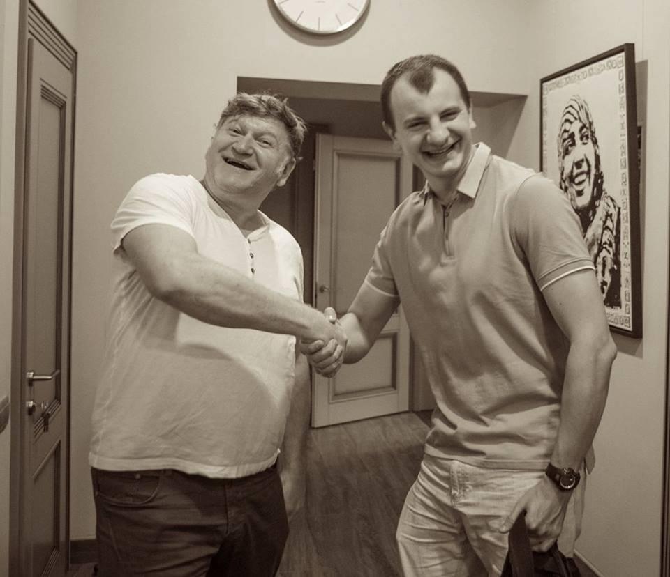 Евгений Валерьевич Карась и Евгений Васильевич Карась