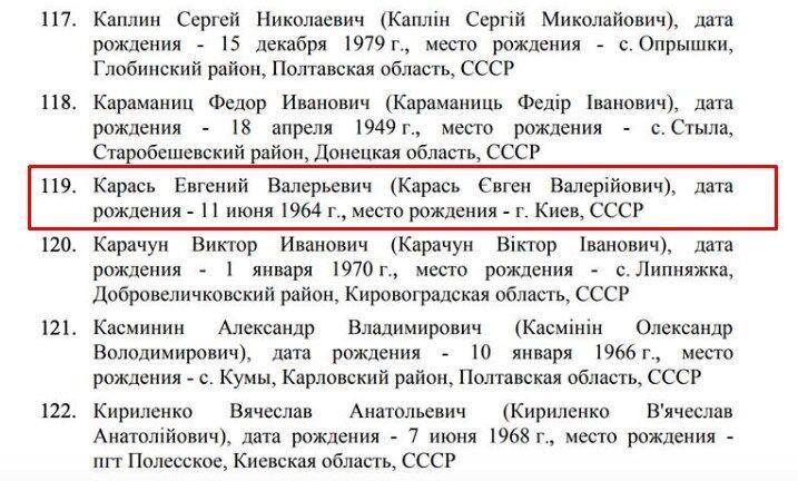РФ оконфузилась с санкционным списком