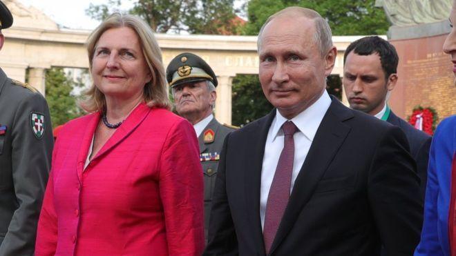 Как Россия вербует себе в Австрии шпионов