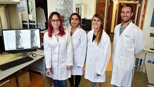 Команда исследователей, работавших над экспериментом