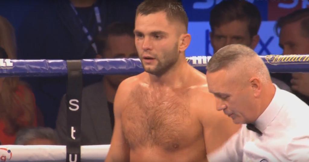 Бой украинского боксера завершился необычным результатом