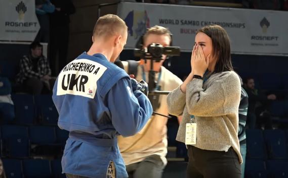 Андрей Кучеренко и его девушка