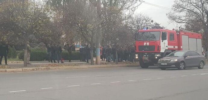 В Кривом Роге устроили газовый бунт