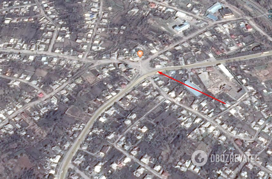 Аварія сталася на вул. Харківська, м. Куп'янськ