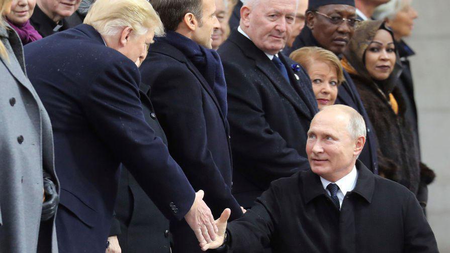 В Париже засветили реальный рост Путина