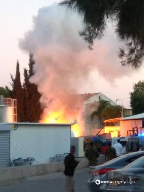 Израиль нанес мощные удары по сектору Газа: фото и видео