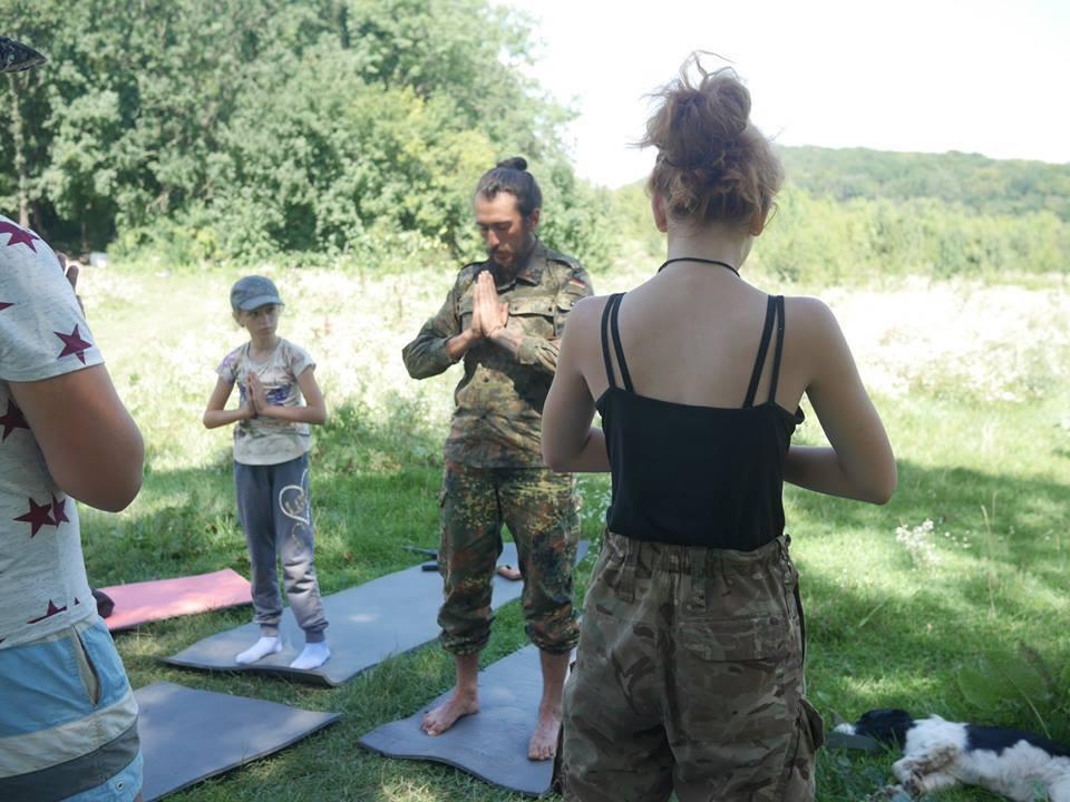 Занятия ведет йог-веган