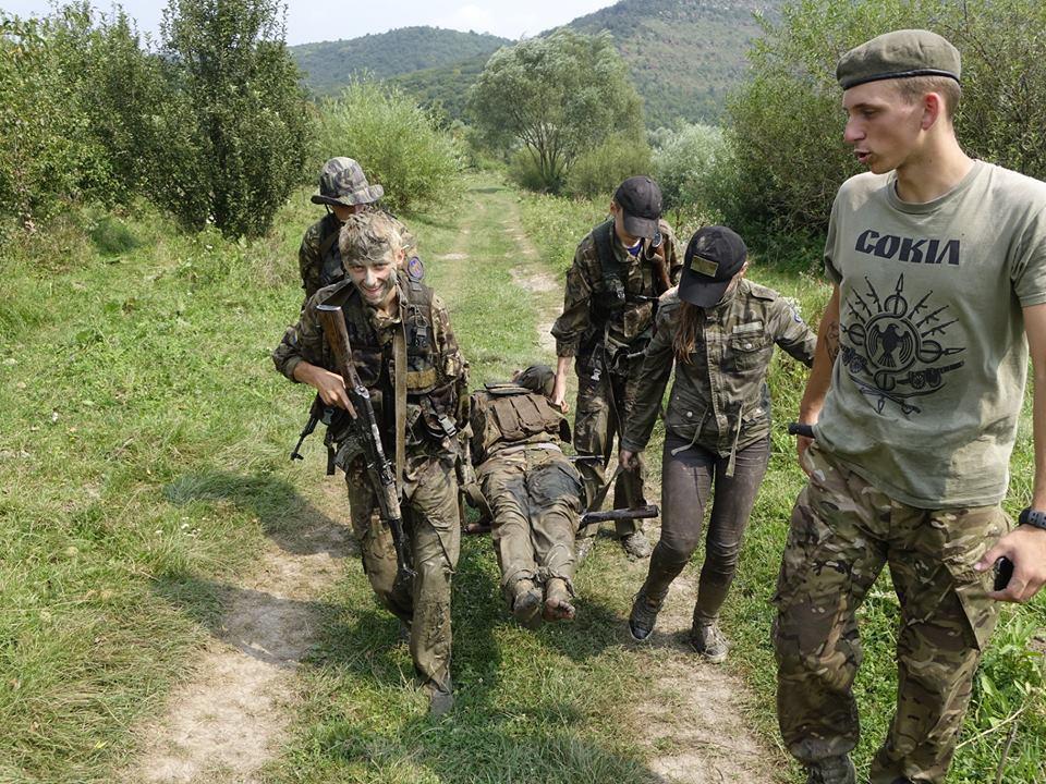 Занятия по тактической медицине