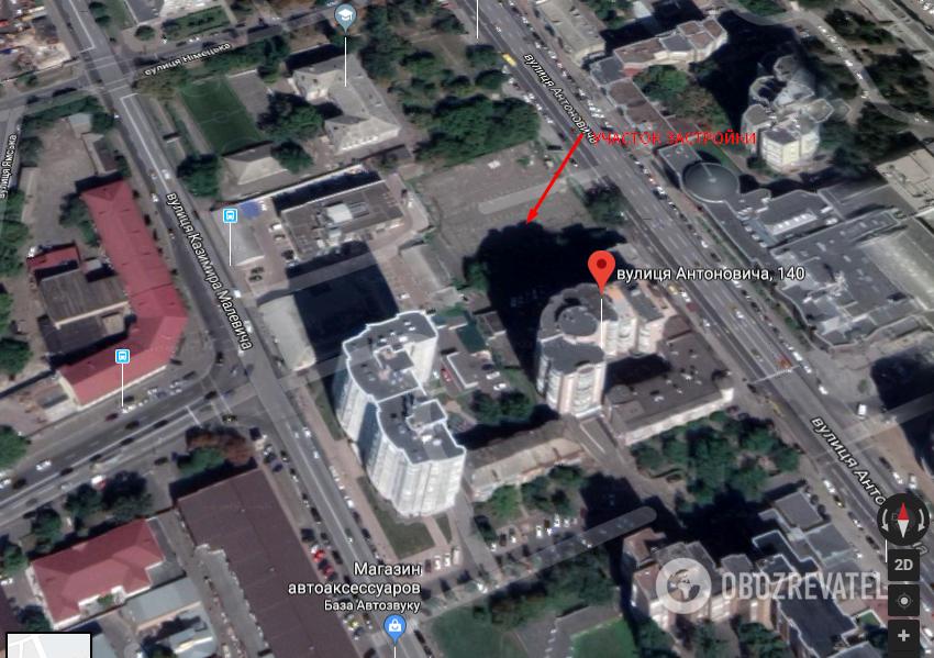 Ð' шаге от катаÑтрофы: ÑтроительÑтво в центре Киева грозит Ñерьезными поÑледÑтвиÑми