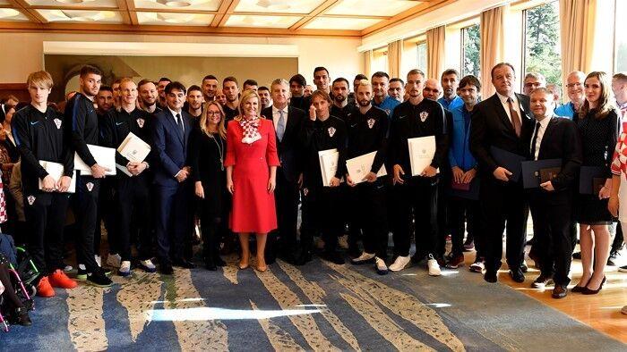 Нагородження збірної Хорватії