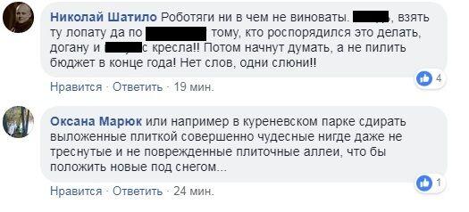 Комунальники Києва здивували мережу дивним рішенням у снігопад: відео