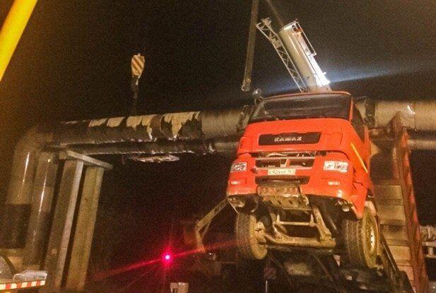 Авария в Керчи из-за Крымского моста