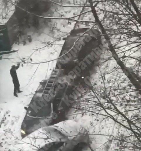 У Києві трапилася ДТП з 6 авто: відео аварії