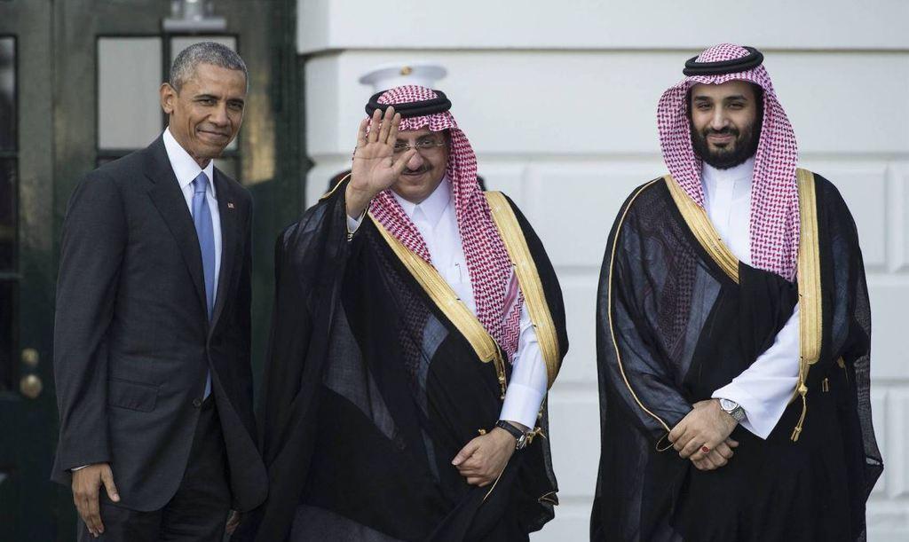 Барак Обама и Саудиты