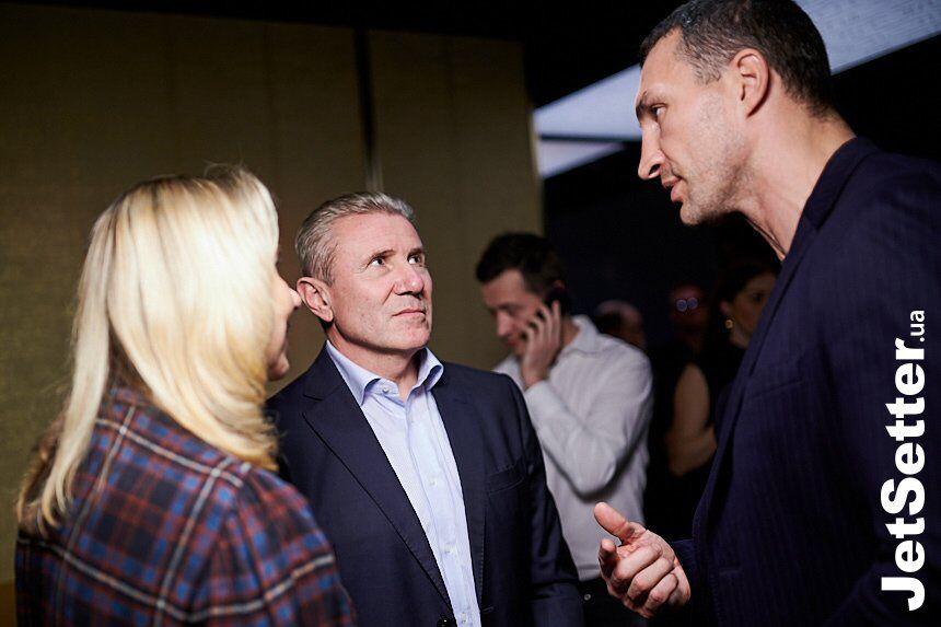 Владимир Кличко и Сергей Бубка