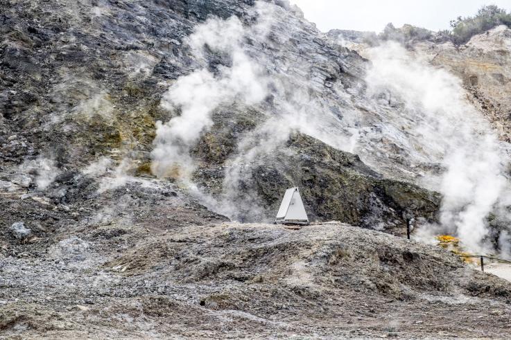 Вулканическая активность наблюдается последние 60 лет