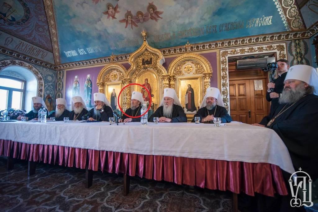 На Соборе УПЦ МП засекли скандального митрополита: что известно