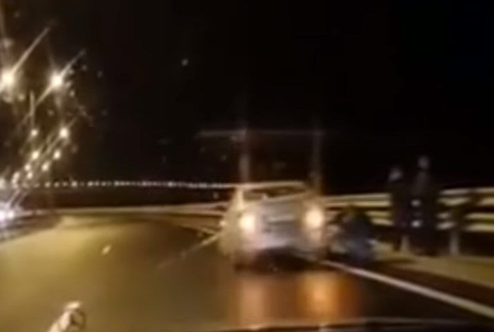 Скриншот видео свидетеля
