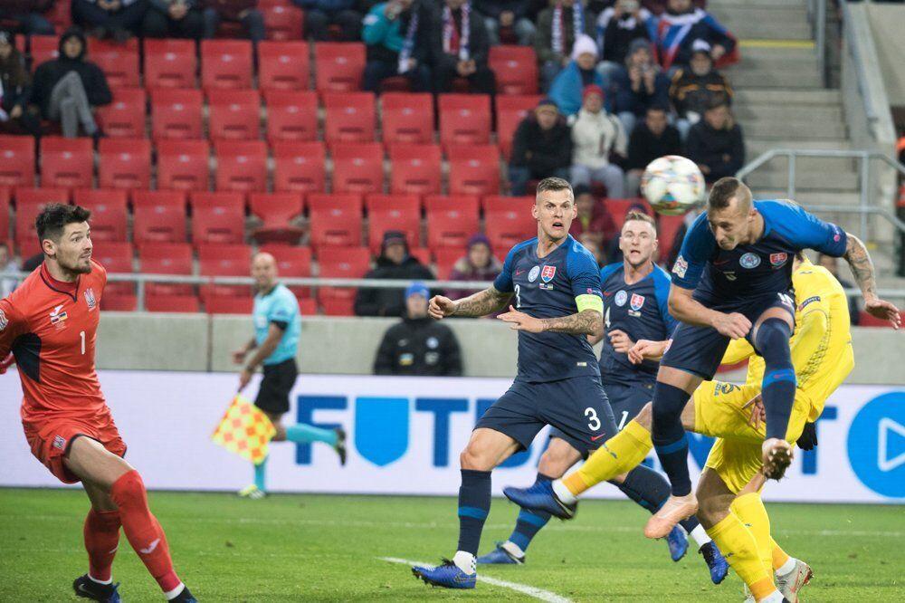 40fc2418b4e7 Сборную Украины разгромили в заключительном матче Лиги наций ...