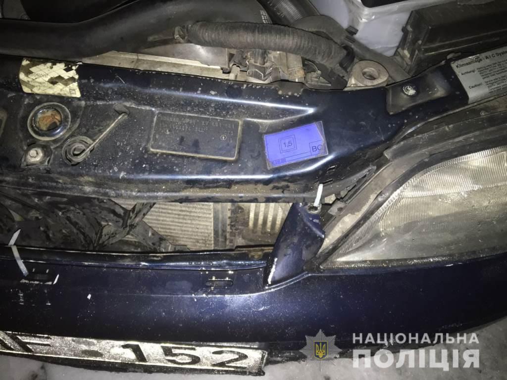 14 ноября этот Opel Vectra B сбил детей под Киевом. В мае патрульные останавливали автомобиль — водитель также был нетрезв