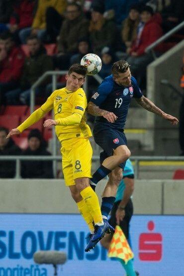 Збірну України розгромили в заключному матчі Ліги націй