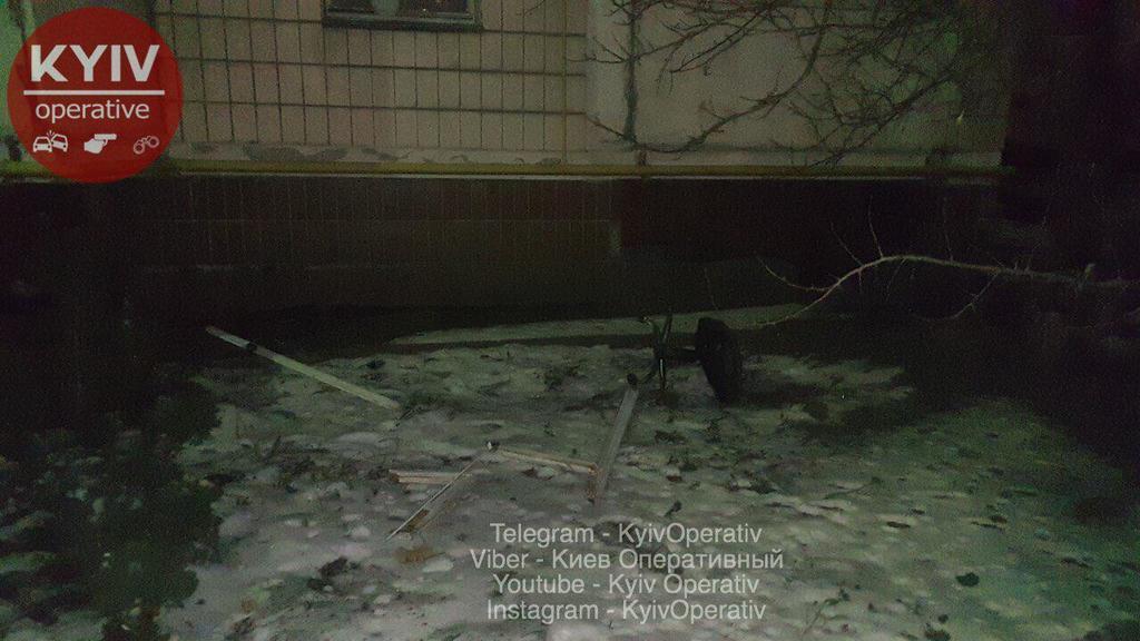У Києві невідомий погрожував підірвати будинок
