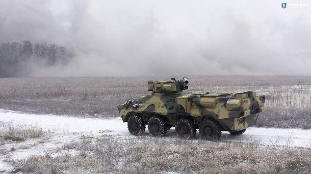 В Украине создали грозную боевую машину из натовской стали
