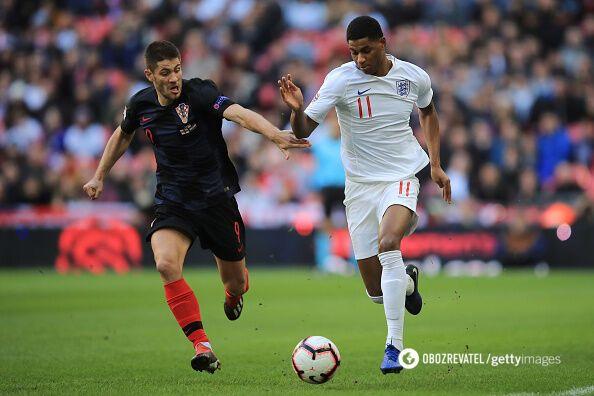 Англія обіграла Хорватію в 2018 році