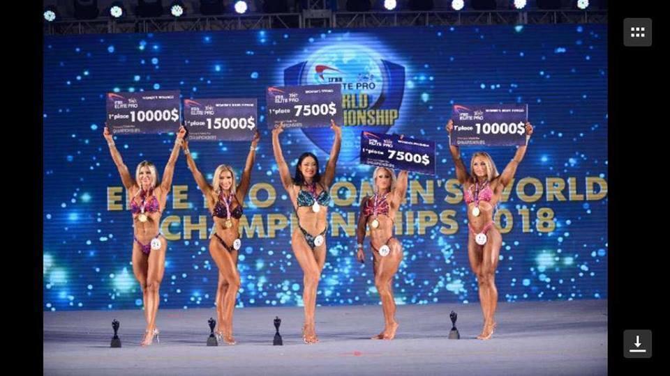 Українка виграла чемпіонат світу з фітнесу