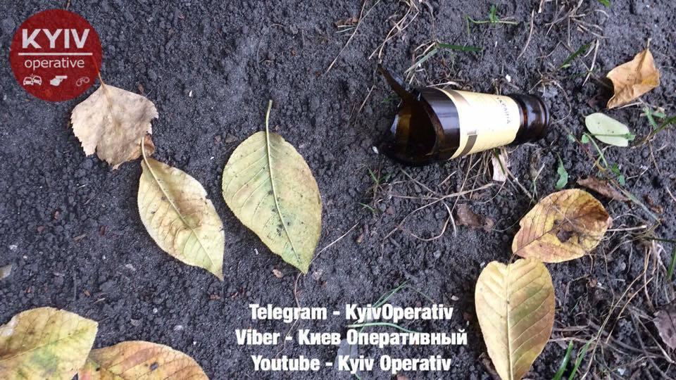 В Киеве мужчина напал на прохожих