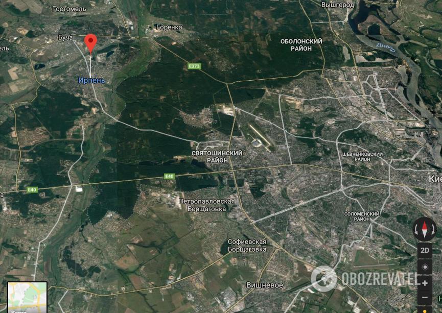 Дитина на ходу випала з маршрутки: подробиці НП під Києвом