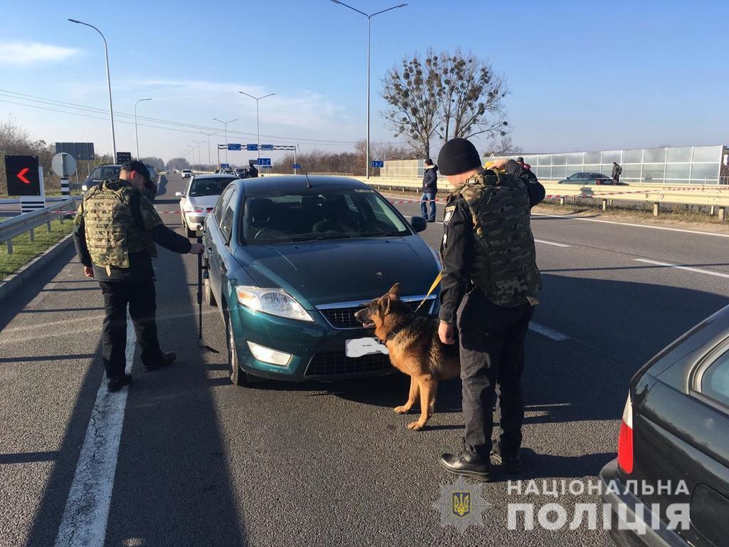 Перевірка на трасі Київ-Чоп
