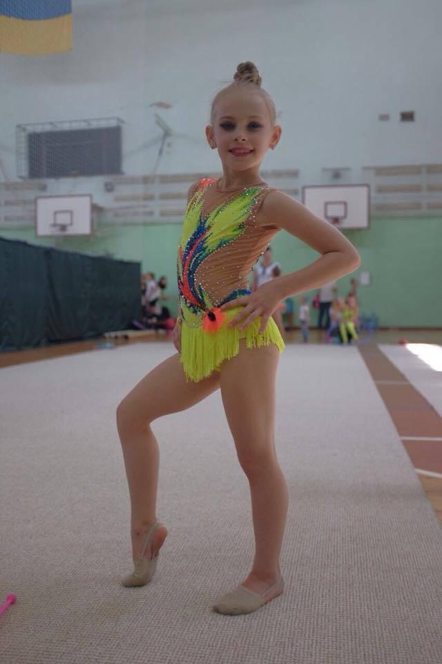 Марго кілька років займалася гімнастикою