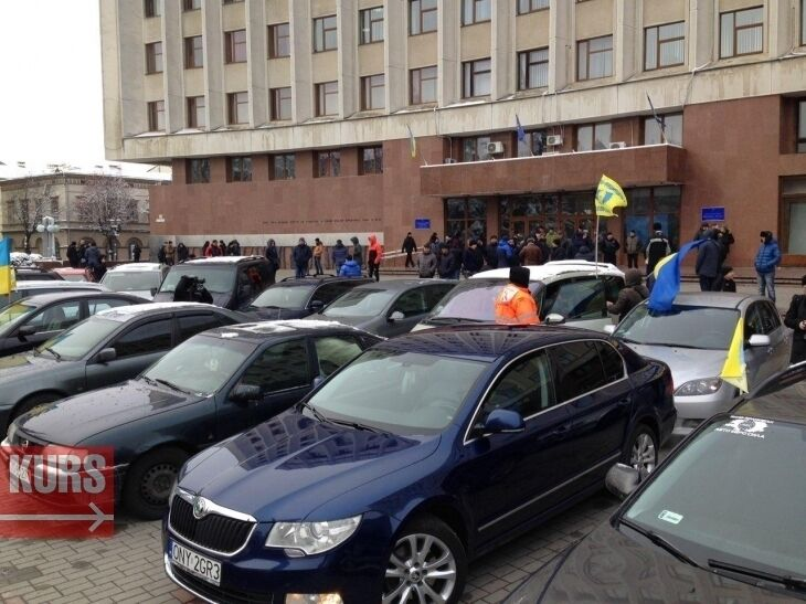 ''Євробляхери'' можуть піти під суд за протести в Україні